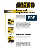 Mico - Brake Locks - 2002 Product Application Guide