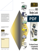 Mico - Electrohydraulic Brake Lock System - 690