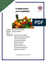 Nutrientes Reguladores o Biocatalizadores