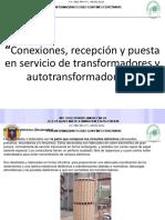 Recepcion Transformadores de Potencia y Componentes