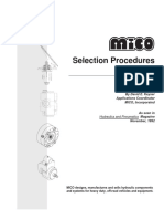 Mico - Selection Procedures for Brakes