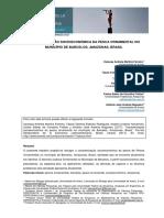 CARACTERIZAÇÃO SOCIOECONÓMICA DA PESCA ORNAMENTAL NO MUNICÍPIO DE BARCELOS, AMAZONAS, BRASIL