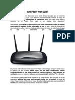 Internet Por Wi
