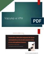 Vacuna vs VPH