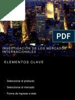 Unidad 3. Investigación de Los Mercados Internacionales
