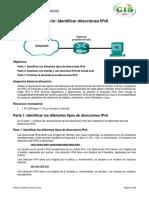 2.8 Identificar Direcciones IPv6