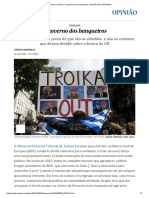 Jurgen Habermas - Crise Na Grécia_ O Governo Dos Banqueiros _ Opinião _ EL PAÍS Brasil