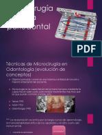 Microcirugía Plástica Periodontal