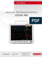 Deam Edan M8 Monitor - User Manual