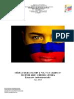 MÓDULO DE ECONOMIA Y POLITICA GRADO 10° EL ESTADO COLOMBIANO