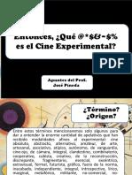 Entonces Qué Es El Cine Experimental