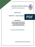 Práctica 1 Inmunología