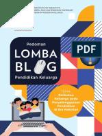 Pedoman Blog-Pendidikan Keluarga