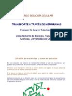 Clase 11 Transporte a Trav s de Membranas