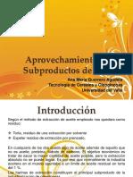 Aprovechamiento Subproductos de Aceites