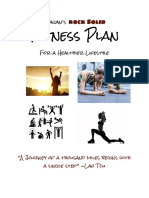 a4 fitness plan project