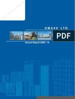 Omaxe Annual Report 09-10