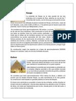 Investigacion Piramide s Keops Mice Rino