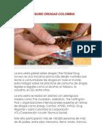 Consumo Drogas Colombia