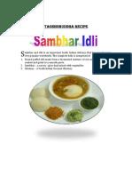 IDLI SAMBHAR