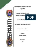 Informes de Microbiologia