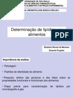 Aula de Lipidios 2016