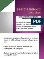 Bibb3033 Sintaksis Jaku Iban Leman Penerang Dalam Frasa Pengawa