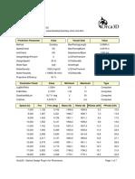 Planing Analysis Report 3.9 Lcg