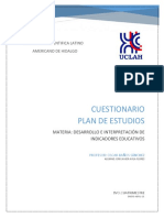 Cuestionario Plan Educativo