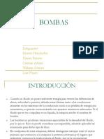 Bombas Exposicion