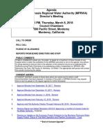 MPRWA Agenda Packet 03-08-18