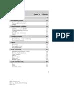 2009 Focus Owner Guide Manual