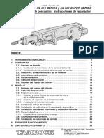 S03 Rock Drill HL510-560 Repair Instructions_SP.pdf JUMBO DD210 PERFORADORA