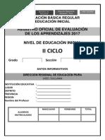Registro de Evaluacion 3 Años