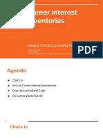 copy of week 8  career interest inventories