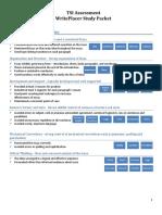 Tsia-writeplacer Study Packet