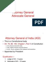 Attorney Advoate General