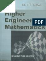 Higher Engineering Mathematics ( Part 1 of 11 )