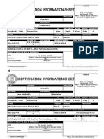 ID Information Sheet