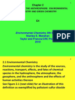 0lecture 4 Environmental Chemistry and Green Chemistry