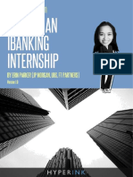 The Best Book on How to Get an Investment Banking Interns