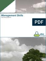 Management Skills Email