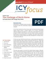 The Challenge of North Korea