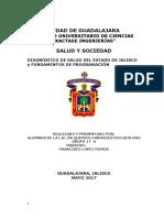 Diagnóstico de Salud Del Estado de Jalisco Trabajo Final 2017 A