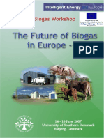 The Future of Biogas in Europe - III