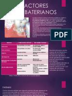 FACTORES ANTIBATERIANOS
