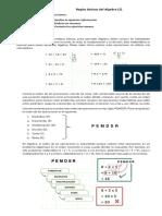Reglas Básicas Del Algebra 3er Grado