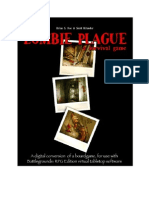 Zombie Plague Rulebook for BRPG