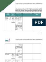 Autoevaluación Responsable Sector Privado 16mar17
