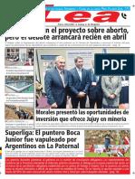 Periódico Lea Martes 06 de Marzo Del 2018